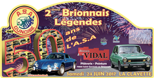 Plaque 2017 legendes mini